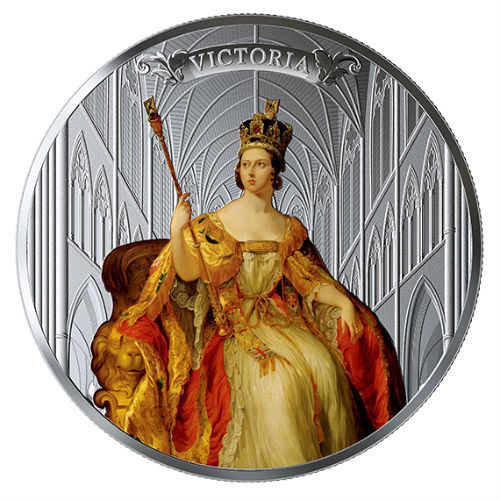 QUEEN VICTORIA 200th Ann. Birth $50 5 oz Silver Proof Coin Canada 2019