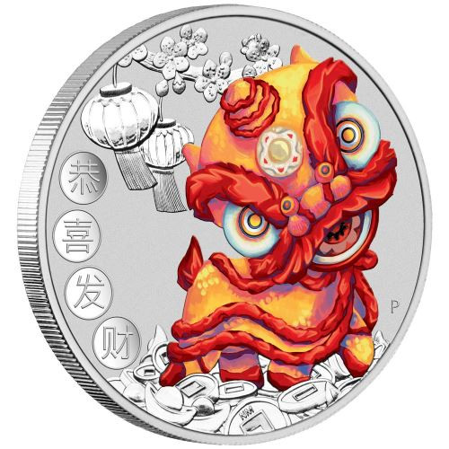 CHINESE NEW YEAR 1 oz Silver Tuvalu 2020