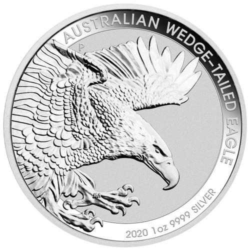 WEDGE TAILED EAGLE 1 oz Silver $1 Coin Australia 2020