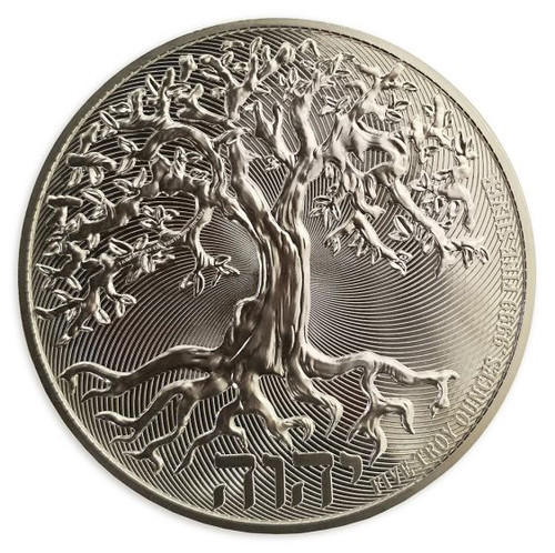 5 oz TREE of LIFE - High Relief Silver Coin $10 Niue 2019