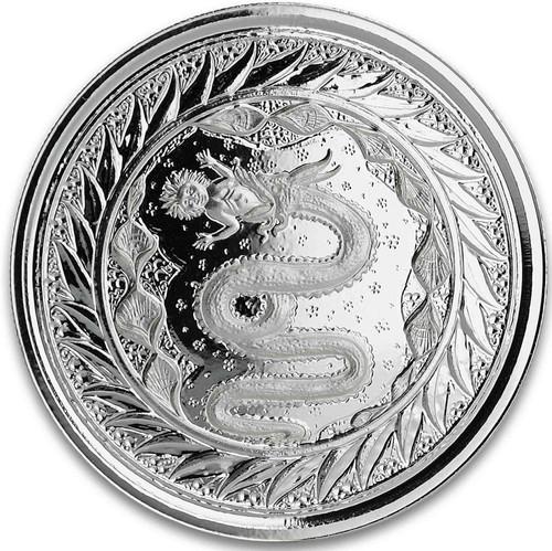 SERPENT of MILAN 1 oz Silver Coin Samoa 2020
