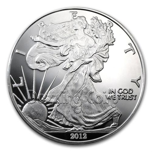 4 oz Silver Eagle .999 Fine Silver Coin USA 2012
