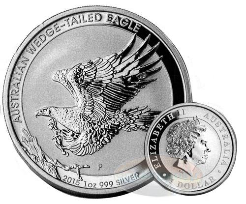 2015-P Australia PCGS GEM BU Wedge Tailed Eagle