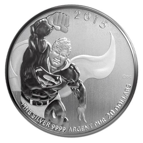 2015 $20 Fine Silver Coin DC Comics Originals Superman TM