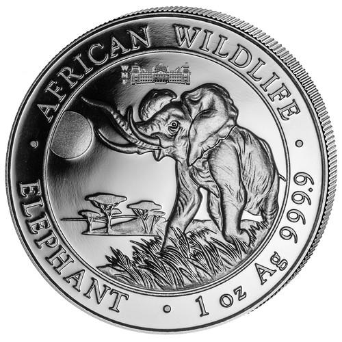 Exclusive World Money Fair PRIVY- ELEPHANT 1oz Silver Coin 2016 Somalia