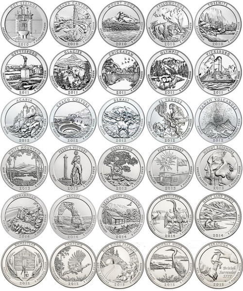 2015 D America The Beautiful National Park Quarters Free Shipping