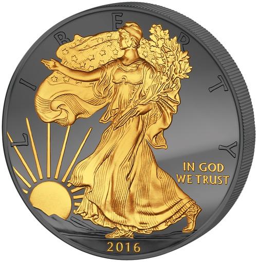 2016 1 oz Golden Enigma - Jubilee 30 Years of American Eagle
