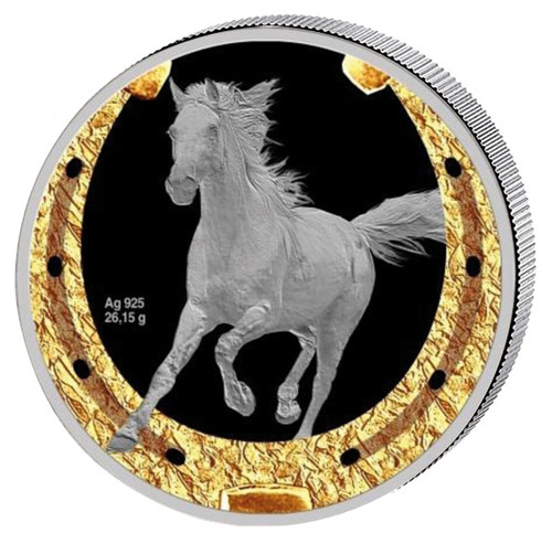 $1 Orlovsky Trotter - Year of the Horse 2014 Niue