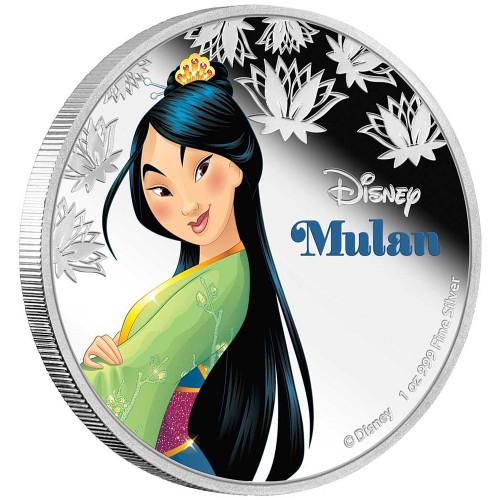 Disney Princess MULAN - 2016 Niue 1 oz Silver Coin