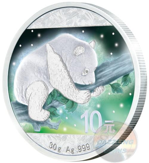 Frozen Panda 30 gram Silver & Rhodium Plated & Color 2016