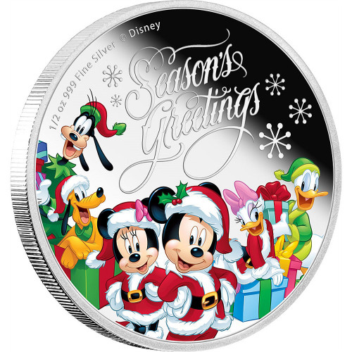 Disney Season's Greetings Mickey Mouse & Friends 2016 Niue