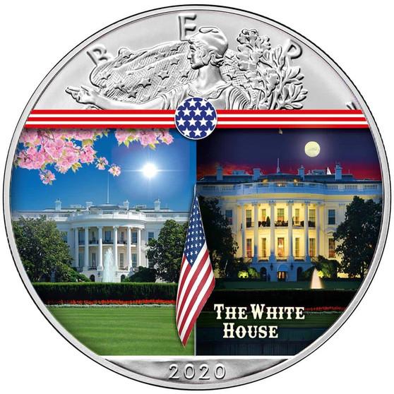 WHITE HOUSE Landmarks USA 1 oz Silver Coin 2020 USA