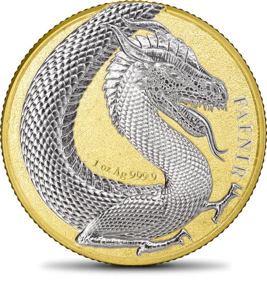 GERMANIA BEASTS FAFNIR Gold 1 oz Silver 2020