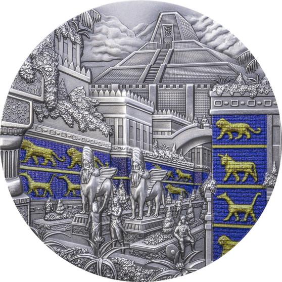 BABYLON Lost Civilizations 2 oz Silver Coin $10 Palau 2021