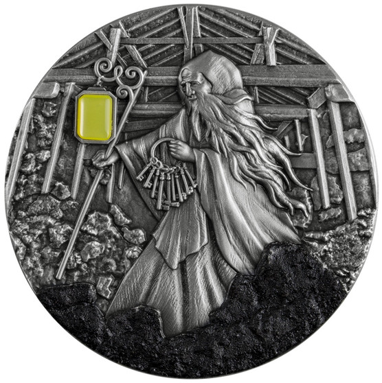 SKARBEK Spirit of Coalmines 2 Oz Silver Coin Niue 2021