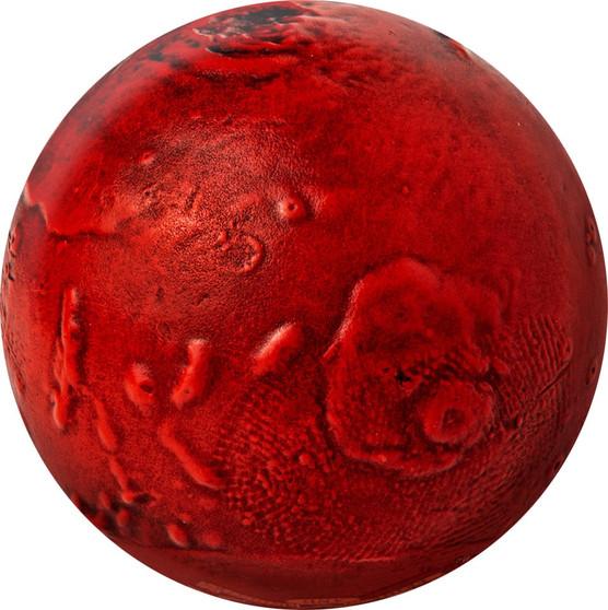 MARS 3D Planet Spherical 1 oz Silver Coin Barbados 2021