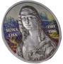 MONA LISA Gioconda Ultra  High Relief  1 Oz Silver Coin 5$ Palau 2017