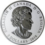 Hearts Aglow - Pure Silver Glow-in-the-Dark Coin Canada 2018