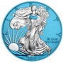 WALKING LIBERTY Space Blue Edition 1 oz Silver Coin