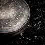 BIG BANG UNIVERSE DOME – Glow Effect 2 oz  Silver Coin with Meteorite 2019 Niue