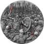 LEONIDAS Thermopylae Great Commanders 2 Oz Silver Coin Niue 2019