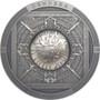DENDERA Zodiac Egypt 3 oz Silver Antique Coin Cook Islands 2020
