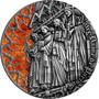NOTRE DAME de Paris 2 oz Silver Coin 2000 Francs Cameroon 2019