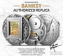 BANKSY  Roman Booteen's Most Ambitious Coin