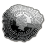 6 oz Mount VESUVIUS Volcano Shape Antique Finish Silver Coin Niue 2016