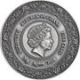 HYGIEIA Goddesses of Health 50 g Silver Coin Ghana 2020
