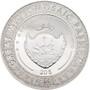 LADY WITH AN ERMINE Leonardo da Vinci Micropuzzle 3 oz Silver Coin Palau 2020