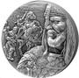 SALADIN 2 oz Silver Coin 10000 Francs Chad 2021