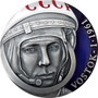 YURI GAGARIN VOSTOK-1 60th Ann. 3 Oz Silver Coin Cameroon 2021
