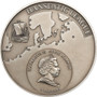HANSEATIC LEAGUE Hansa 5$ Cook Island Silver Coin 2010