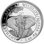 2021 ELEPHANT with OX privy mark 1 oz Silver Coin Somalia