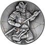 YASUKE Samurai 2 oz Silver High Relief Coin 10000 Francs Chad 2021