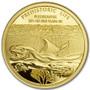 PLESIOSAURUS 1/2 gram Gold Coin 100 Francs 2020 Congo
