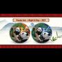PANDA Night & Day set Silver Color Coins China 2021