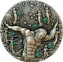 ATLAS Titans Glow In The Dark 2 oz Silver Coin $2 Niue 2020