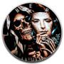 SKELETON MASK 1 oz. Silver Eagle Color Coin USA 2020