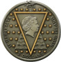NICOLAS FLAMEL Philosophers Stone 2 Oz Silver Coin 2$ Niue 2021