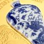 Chinese Dragon Vase Greatest Porcelain 2 oz Silver Coin 10 Cedis Ghana 2021
