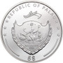 LADY LUCK 1 oz Silver Proof Coin 5$ Palau 2021