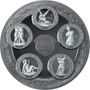 ECSTASY OF SAINT TERESA Eternal Sculptures 5 oz Silver Coin Palau 2021