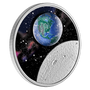 MOTHER EARTH Glow-In-The-Dark   $20 Silver Proof Coin Canada 2020