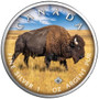 BISON Trails of Wildlife Leaf 1 oz. Silver Coin Canada 2021