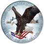 AMERICAN SILVER EAGLE 1 oz Colorized Silver Coin with COA USA 2021