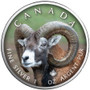 BIGHORN SHEEP Canada's Wildlife Maple Leaf 1 oz. Silver Coin 2021