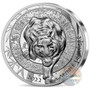 Lunar YEAR of the TIGER 1 oz Silver Proof High Relief Coin €20 France 2022