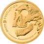 HOMINIDAE Evolution of Life 0.5 g Gold Coin 1000 Togrog Mongolia 2021